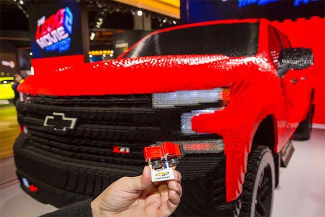 Chevrolet Silverado из лего, фото 6